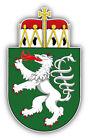 Styria City Coat Of Arms Austria Car Bumper Sticker Decal 3'' x 5''