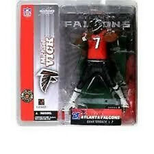 McFarlane NFL 7 MICHAEL VICK variant RED figure-Falcons