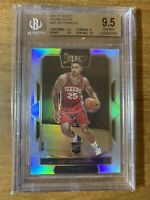 BEN SIMMONS 2016-17 SELECT COURTSIDE SILVER PRIZM ROOKIE RC BGS 9.5 GEM INVEST