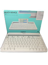 Logitech BluetoothMulti-Device Keyboard K480 - white