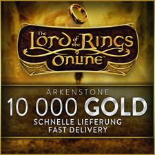 LOTRO / HDRO - 10 000 GOLD - Arkenstone - Herr der Ringe Online