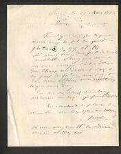 """PARIS (X°) PORCELAINE & CRISTAL """"MINOT"""" en 1880"""