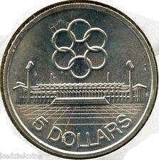 Singapore 1973 Silver Coin $5 Seventh SEAP Games - 5 Dollars - KQ946