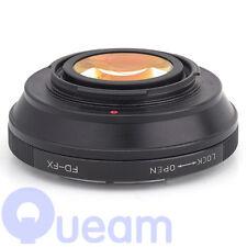 Focal Reductor velocidad Booster Lentes Canon Fd Para Fujifilm FX Adaptador X-T1 X-E1 X-M1