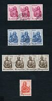 SWITZERLAND LOT OF USED 1965  EVANGELIST STAMPS  AS SHOWN