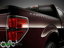 Ford F150 F250 F350 Harley Davidson Truck Bed Side Letter Decal Emblems Satin OE