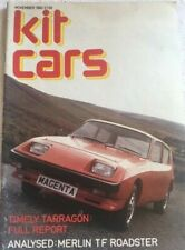 Kit Cars Magazine November 1982