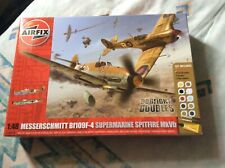 Airfix A50014 1:48 Scale Dogfight Doubles Bf109F-4/Supermarine Spitfire Mk.Vb