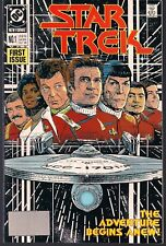 STAR TREK TOS #1 DC 1989 KIRK & SPOCK MOVIE STYLE NEW ADVENTURES PETER DAVID NM-