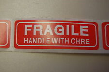 500 1x3 Fragile Sticker Typo Clearance Sale Fragile Labelsticker Usps Ups Fedex