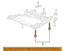 HONDA OEM Front Suspension-Engine Cradle Bolt 90175SNAA00