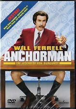 ANCHORMAN DVD NEW SEALED REGION 2