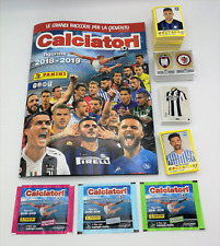 Calciatori Panini 2018 2019 18 19 album figurine vuoto + Set completo + C1 C25
