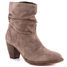 Steven By Steve Madden Welded Boot In Taupe Suede Size 9.5