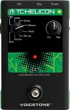 VoiceTone D1 TC Helicon VoiceTone D1 Doubling Detune Pedal - FREE 2 DAY SHIPPING