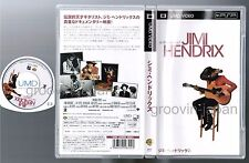 JIMI HENDRIX  A Film of Jimi JAPAN UMD VIDEO NFPA-Y13174 w/PS Eric Clapton 2006