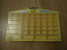 GALOOB MICRO MACHINES  Car Carrying Wall Display Case Yellow 1989