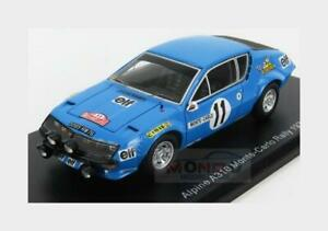 1:43 Spark Renault Alpine A310 #11 Rally Montecarlo 1975 A.Warmbold S5494 Model