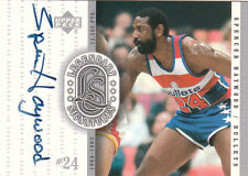 SPENCER HAYWOOD 1999-2000 UD  Legendary Signatures Auto BULLETS Legend