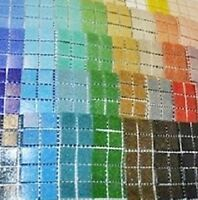 400 Craft Mosaic Tiles 2x2cm Mosaic Crafts Amazing Value 40 Colours x 10 of each