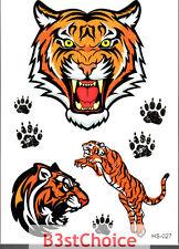 REGNO Unito varietà di tigri LADY Ragazzo Bambino Festa Crystal Shiny Glitter Tatuaggio Temporaneo