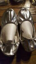 Chaussons de Danse Silver Ballet slippers Bauchtanzschuhe Gymnastikschuhe 40 7