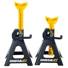 Double Locking 3 Ton Ratchet Style Jack Stands OME32038 Brand New!