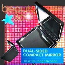 BRIDESMAID GIFT!! Dual Sided Compact Purse Mirror - New - 1x & 3x Magnify