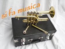 ROLING'S trombino 4 pistoni 2 penne SIb / LA finitura laccata x  musica barocca