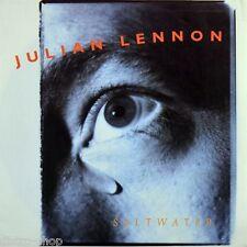 """7"""" JULIAN LENNON Saltwater b/w Rebel King MARK SPIRO VIRGIN incl.Info-Sheet 1991"""