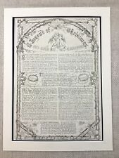 Victorian Christmas Message Story Wyke Bayliss Genuine Antique Print