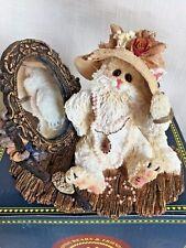 Boyds Bear Kitty Cat ~Purrcilla Prissybuns W/Cecil #371008 *New In Box *