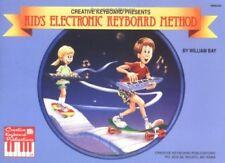 "CREATIVE KEYBOARD PRESENTS ""KID'S ELECTRONIC KEYBOARD METHOD"" MUSIC BOOK-NEW!!"