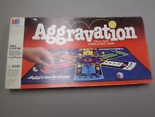 Aggravation Board Game Milton Bradley 1989 Complete