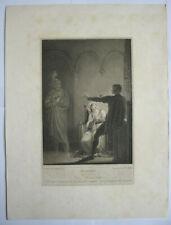Boydell Shakespeare Gallery, Hamlet, Act 3 Scene 4, W.C. Wilson