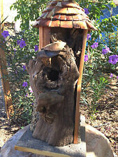 """Bird House by Sonoran Art, """"Silo Home""""  hand made, Sturdy & Gorgeous!"""