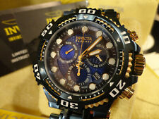 Invicta 30658 Reserve 50mm Blue/Gold Chaos Swiss Chronograph Bracelet Watch NEW!