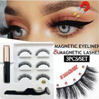 Liquid Magnetic Eyeliner And Magnetic False Eyelashes Easy to Wear Lashes Set