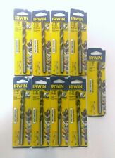Lot of 9 Irwin 1792770 7/16 X 5  Multi Material Drill Bit Carbide Tip