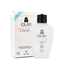 Olay White Radiance UV Whitening Lotion with Sunscreen Skin Whitening 75ml happy
