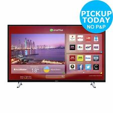 Hitachi 50 Inch Full HD 1080p Freeview Play Smart Wi-Fi LED TV - Black