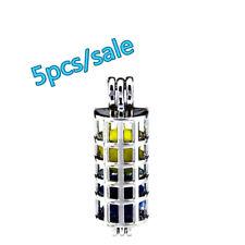 K193-5pcs Bulk Sale ! Silver 35mm Cylinder Beads Pearl Cage Locket (10mm)