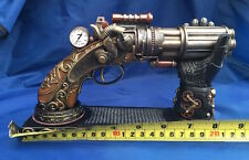 Steampunk Nocks Steam Gun & Stand Ornament Nemesis Now New Boxed Nock's