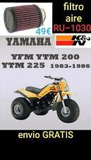 Filtro Aire K&N YAMAHA YTM200 YTM225