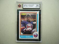 1986/87 O-PEE-CHEE NHL HOCKEY CARD #27 KELLY HRUDEY KSA 10 GEM MINT 86/87 OPC