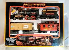 New Bright Gold Rush Express G-Scale Train Set #186