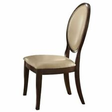 Tremendous Acme Faux Leather Chairs For Sale Ebay Theyellowbook Wood Chair Design Ideas Theyellowbookinfo
