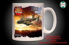 Personalised HALIFAX BOMBER WW2 RAF PLANE Mug Cup Dad Custom Gift - Add Name
