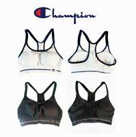 Champion Sports Bra Women's New Small Seamless Racerback Black White