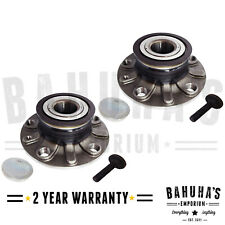 X2 AUDI A3 2003>2016 REAR WHEEL BEARING HUB PAIR WITH ABS RING 30MM TYPE